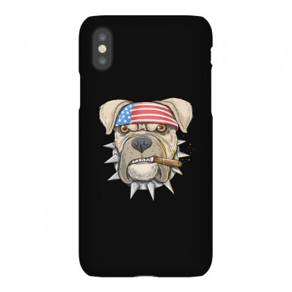 Usa Dog Iphonex Case Designed By Disgus_thing
