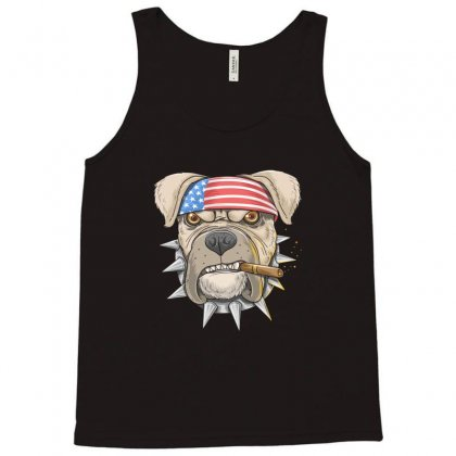 Usa Dog Tank Top Designed By Disgus_thing