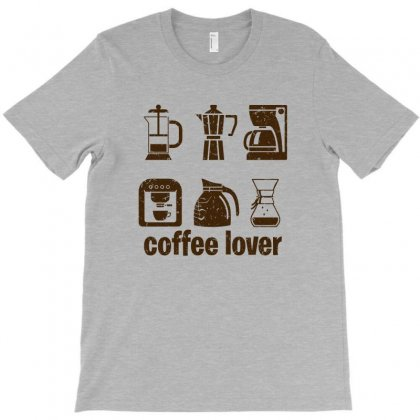 Coffee Lover T-shirt Designed By Ofutlu