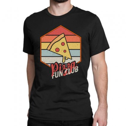 Pizza Fun Club Classic T-shirt Designed By Seda