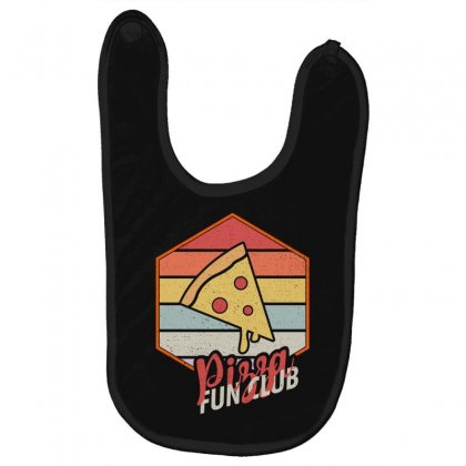Pizza Fun Club Baby Bibs Designed By Seda