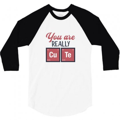 You Are Really Cute For Light 3/4 Sleeve Shirt Designed By Hasret