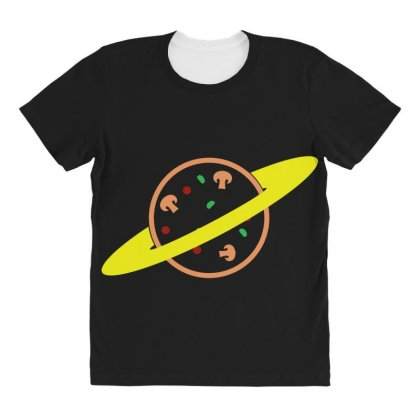 Pizza Planet All Over Women's T-shirt Designed By Seda