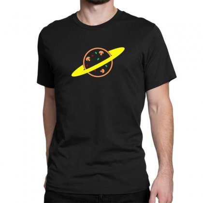 Pizza Planet Classic T-shirt Designed By Seda
