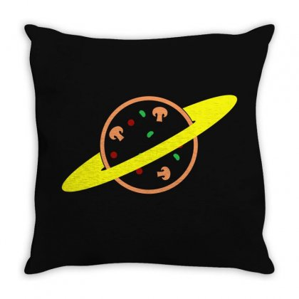 Pizza Planet Throw Pillow Designed By Seda