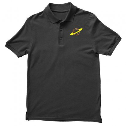 Pizza Planet Men's Polo Shirt Designed By Seda