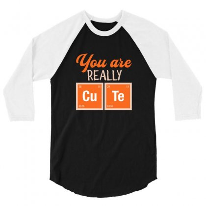 You Are Really Cute For Dark 3/4 Sleeve Shirt Designed By Hasret