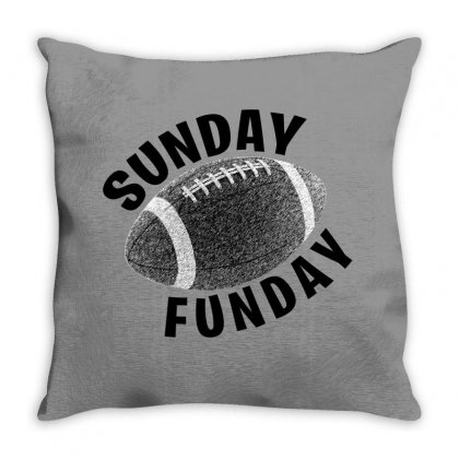 Sunday Funday For Light Throw Pillow Designed By Seda