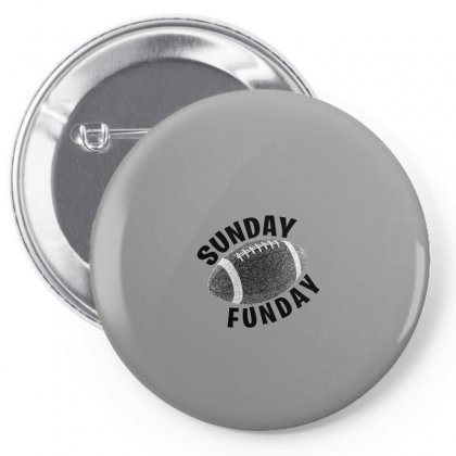 Sunday Funday For Light Pin-back Button Designed By Seda