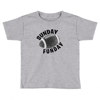 Sunday Funday For Light Toddler T-shirt Designed By Seda