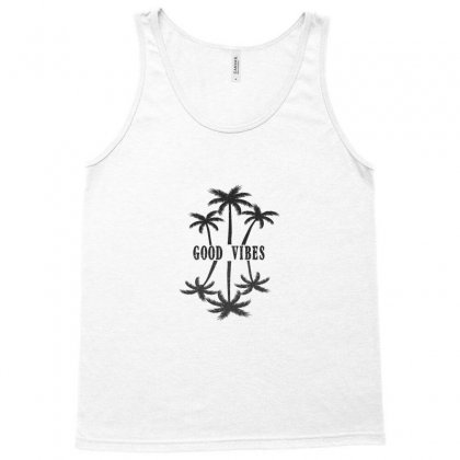 Good Vibes Tank Top Designed By Gurkan