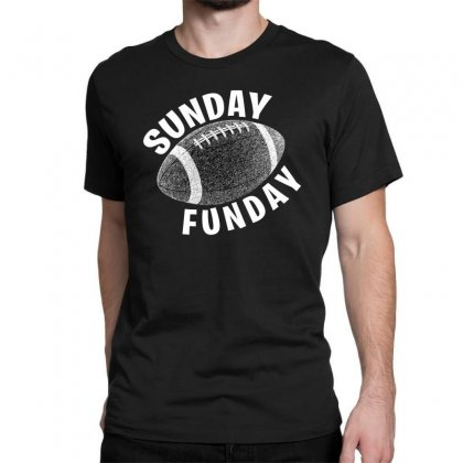 Sunday Funday For Dark Classic T-shirt Designed By Seda