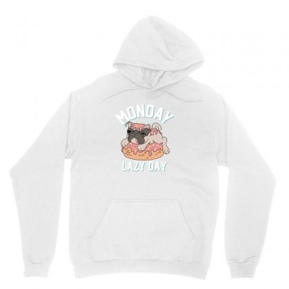 Monday Lazy Day Unisex Hoodie Designed By Disgus_thing