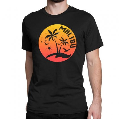 Malibu Classic T-shirt Designed By Seda