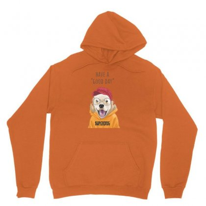 Super Dog Unisex Hoodie Designed By Disgus_thing