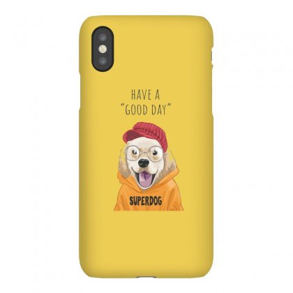 Super Dog Iphonex Case Designed By Disgus_thing