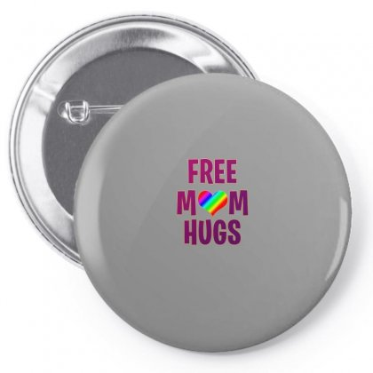 Free Mom Hugs Pin-back Button Designed By Seda