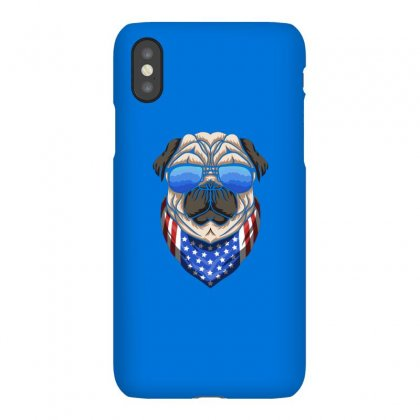 Usa Dog Patriot Iphonex Case Designed By Disgus_thing