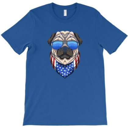 Usa Dog Patriot T-shirt Designed By Disgus_thing