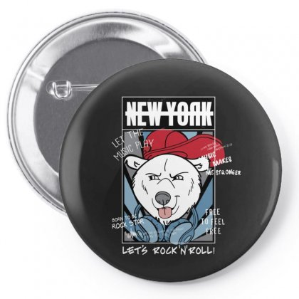 Newyork Pin-back Button Designed By Disgus_thing