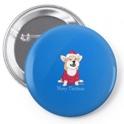 Dog Merry Christmas Pin-back Button Designed By Disgus_thing