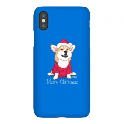 Dog Merry Christmas Iphonex Case Designed By Disgus_thing