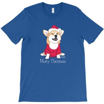 Dog Merry Christmas T-shirt Designed By Disgus_thing