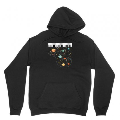 Music In Space For Dark Unisex Hoodie Designed By Hasret