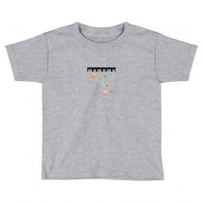Music In Space For Light Toddler T-shirt Designed By Hasret