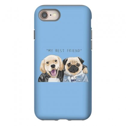 Dog Best Friend Iphone 8 Case Designed By Disgus_thing