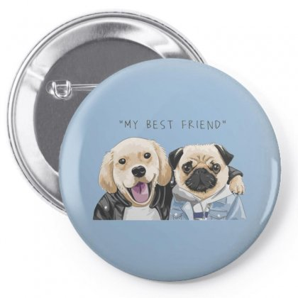 Dog Best Friend Pin-back Button Designed By Disgus_thing