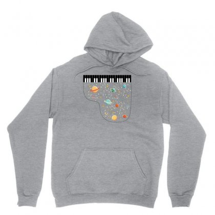 Music In Space For Light Unisex Hoodie Designed By Hasret