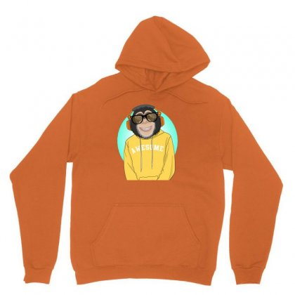 Monkey Awesome Unisex Hoodie Designed By Disgus_thing