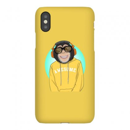 Monkey Awesome Iphonex Case Designed By Disgus_thing
