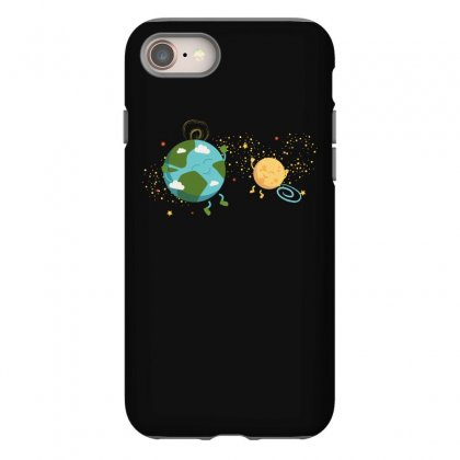 Happy Planets In The Space Iphone 8 Case Designed By Hasret