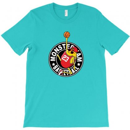Basketball Monster T-shirt Designed By Disgus_thing