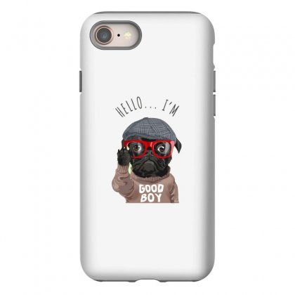 Dog Good Boy Iphone 8 Case Designed By Disgus_thing