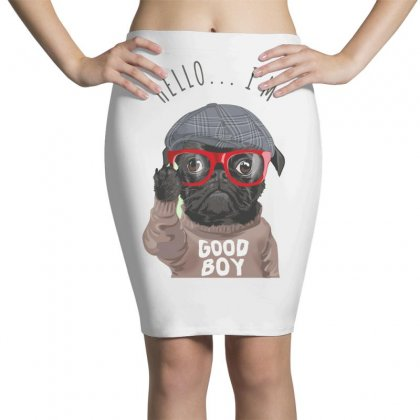Dog Good Boy Pencil Skirts Designed By Disgus_thing