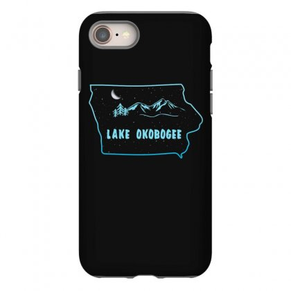 Lake Okobogee Iphone 8 Case Designed By Gurkan