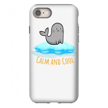 Calm And Cool For Light Iphone 8 Case Designed By Hasret