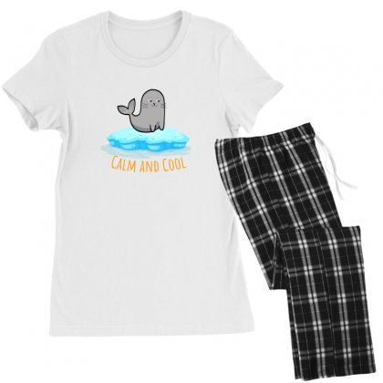 Calm And Cool For Light Women's Pajamas Set Designed By Hasret
