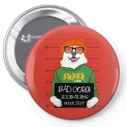 Bad Corg Pin-back Button Designed By Disgus_thing