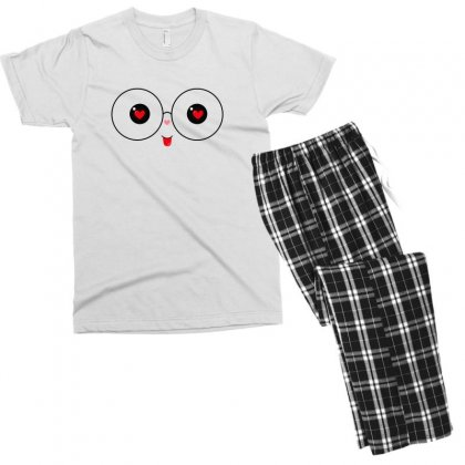 Cute For Light Men's T-shirt Pajama Set Designed By Hasret