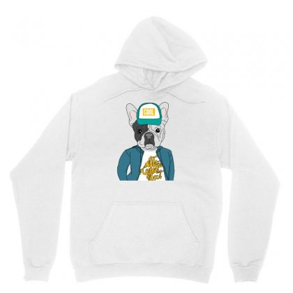 Cool Dog Unisex Hoodie Designed By Disgus_thing