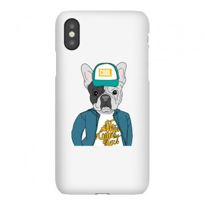 Cool Dog Iphonex Case Designed By Disgus_thing