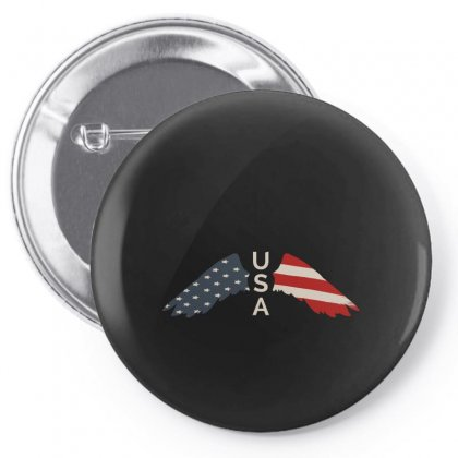 Usa Pin-back Button Designed By Gurkan