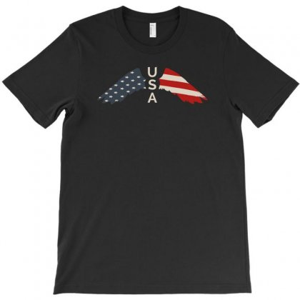 Usa T-shirt Designed By Gurkan