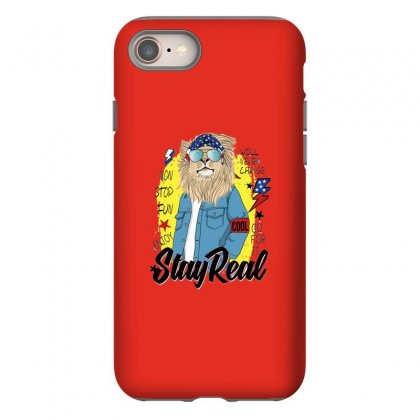 Lion Stay Real Iphone 8 Case Designed By Disgus_thing