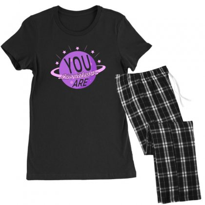 You Are Limitless Women's Pajamas Set Designed By Gurkan