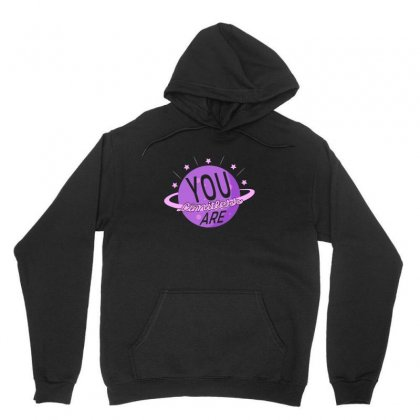 You Are Limitless Unisex Hoodie Designed By Gurkan